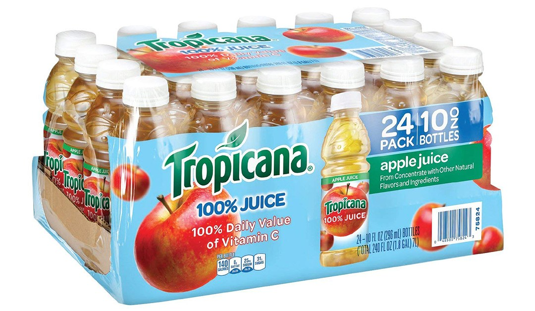 Amazon | BEST PRICE + COUPON + SUBSCRIBE & SAVE: Tropicana Apple Juice