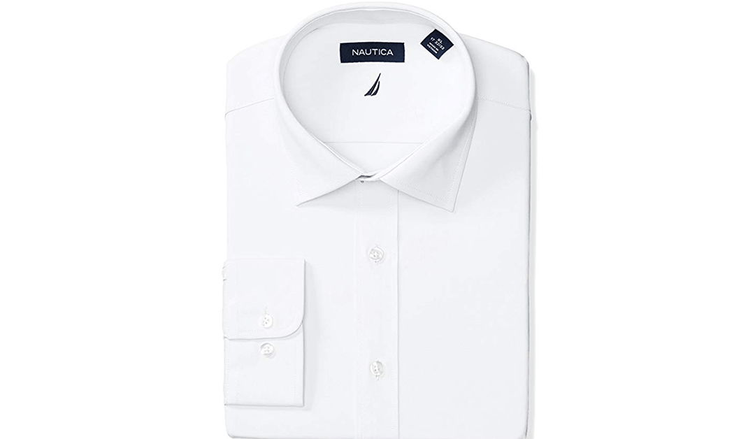Amazon | GOOD DEAL: Nautica Men's Non-Iron Shirt