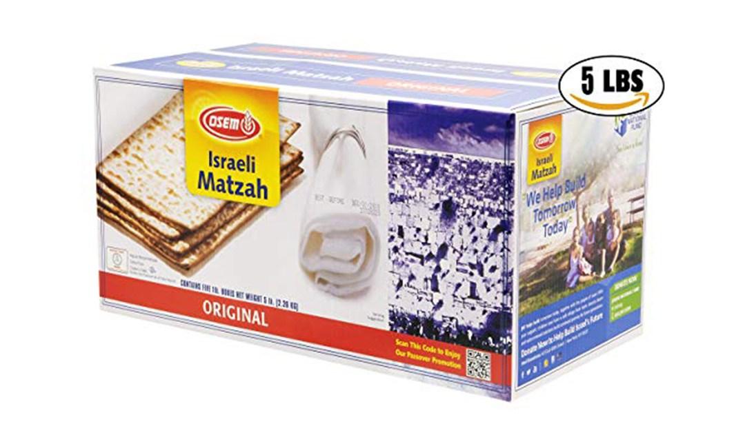 Amazon | BEST PRICE: Osem 5 lb Matzah