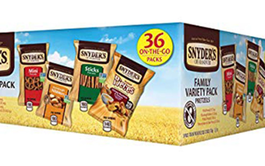 Amazon | SUBSCRIBE & SAVE + COUPON: Snyder's Multi-pack