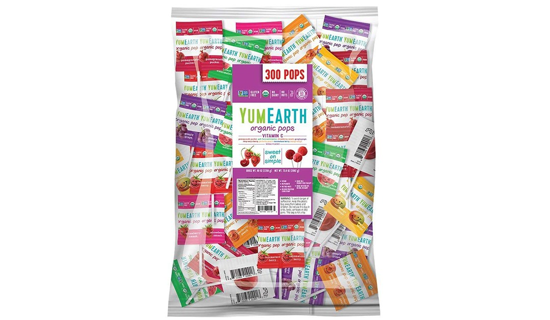 Amazon | BEST PRICE + COUPON: YumEarth 5lb Bag of Lollipops