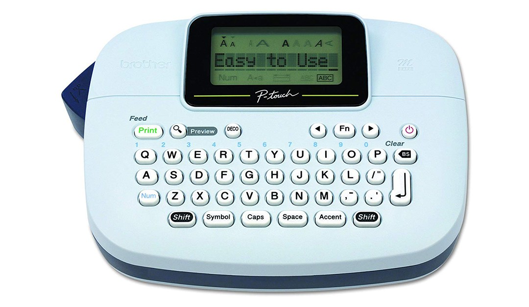Amazon | BEST PRICE: Brother Label Maker