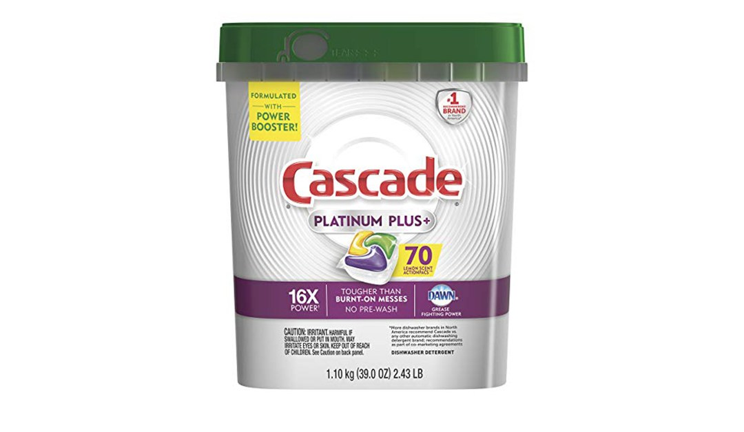 Amazon | BEST PRICE + COUPON + SUBSCRIBE & SAVE: Cascade Dishwasherpacs