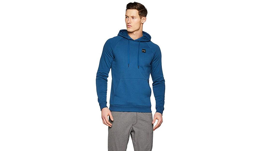 Amazon   BEST PRICE: Men's Large Under Armour Fleece Pullover
