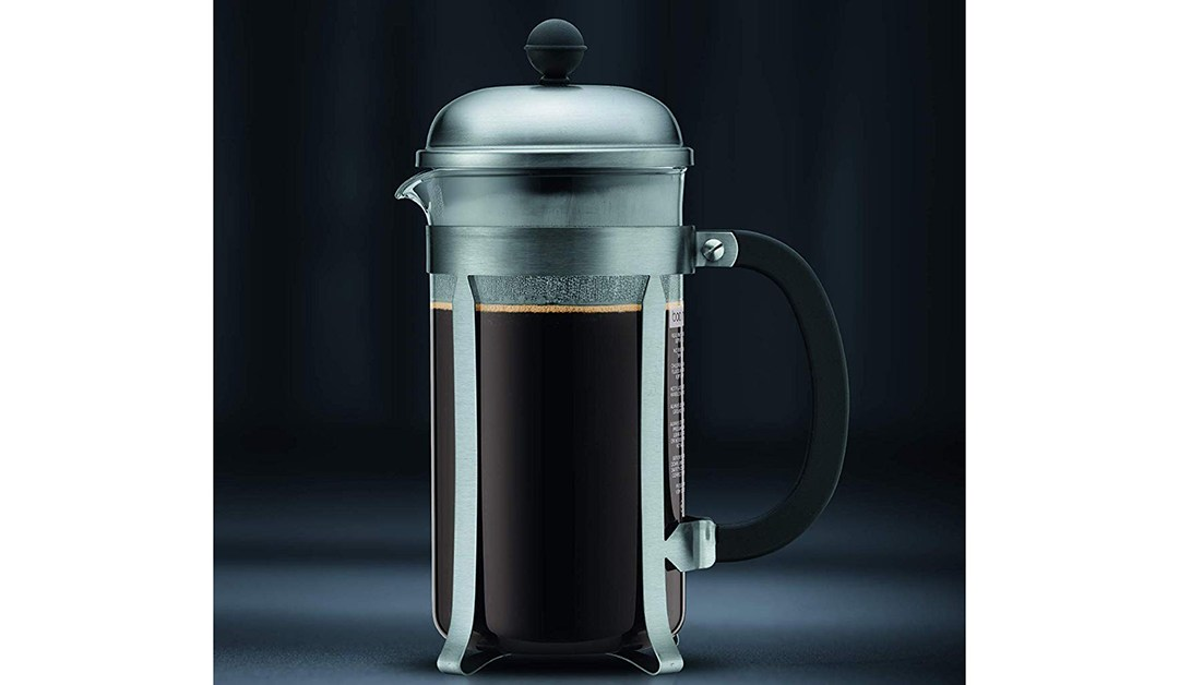 Amazon | BEST PRICE: Bodum 8-cup Coffee Maker