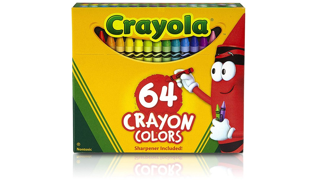 Amazon | GOOD DEAL + ADD-ON: Crayola 64 Pack