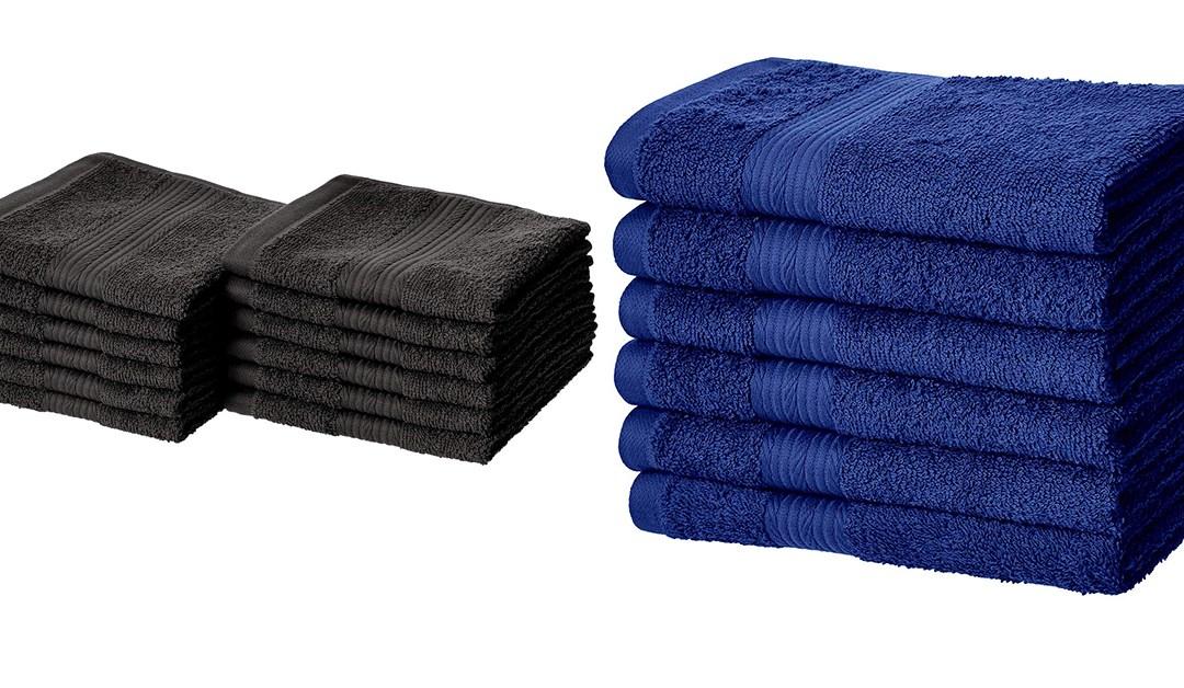 Amazon | BEST PRICE: Amazon Basics Washcloths & Hand towels
