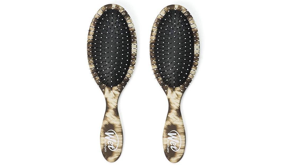 Amazon | BEST PRICE: 2-pack Safari Leopard Wet Brush