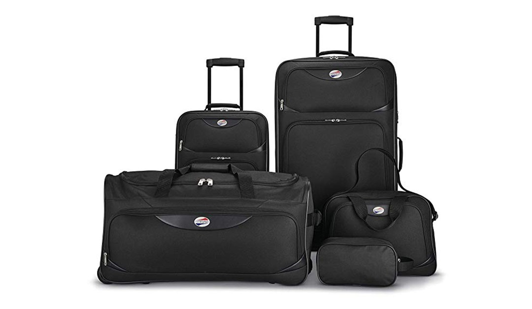 Amazon | BEST PRICE: American Tourister 5-Piece Luggage Set