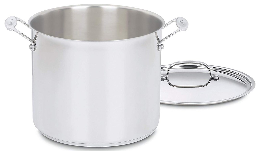 Amazon | BEST PRICE: Cuisinart 12 Qt Stock pot