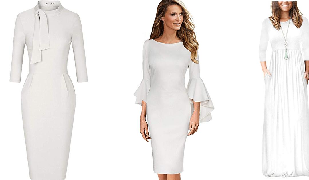 Amazon | White Dresses under $50