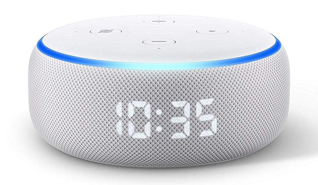 Amazon | BEST PRICE: Amazon Dot with Clock