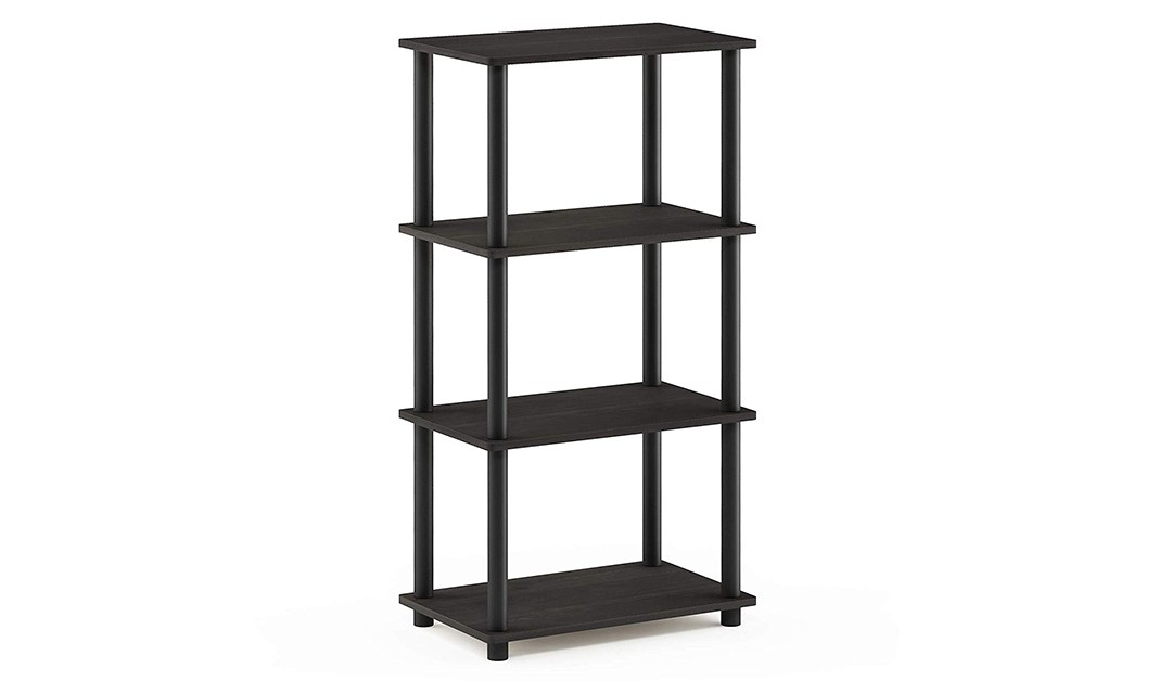 Amazon | BEST PRICE: Furinno Turn-N-Tube No Tool 4-Tier Storage Shelf