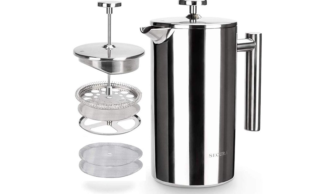 Amazon | BEST PRICE: Secura French Press