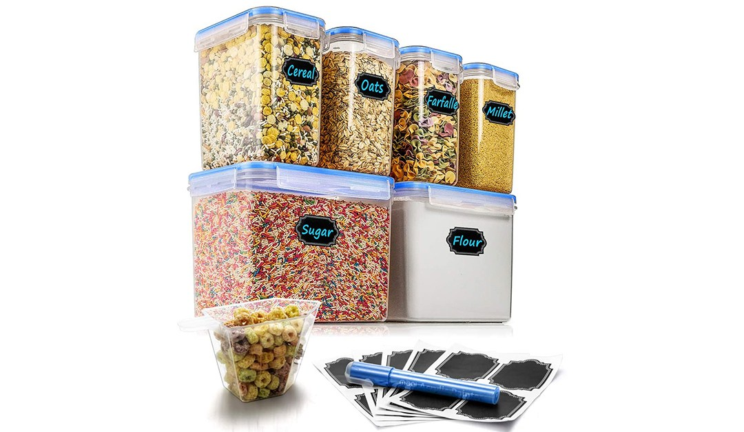 Amazon | BEST PRICE: 6 Piece Airtight Food Storage Container
