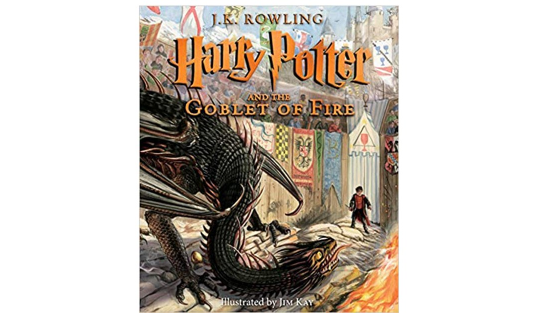 Amazon | BEST PRICE: Harry Potter & The Goblet of Fire Illustrated Edition