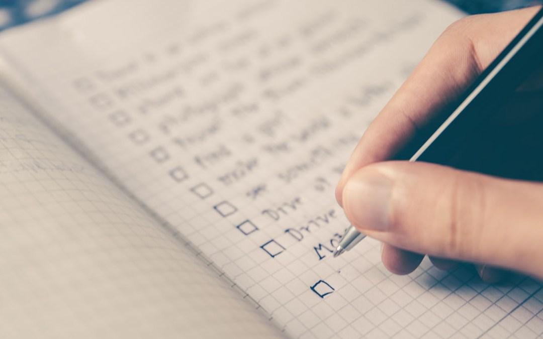 Simcha Planning: Service Checklist