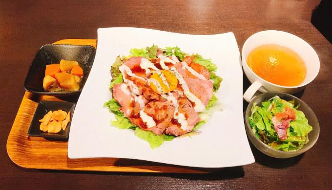 アーチェロ(ローストビーフ丼ランチ)