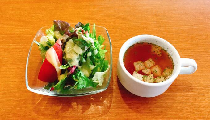 ココチーノ(サラダ&スープ)