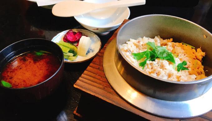 若松(鯛釜飯)