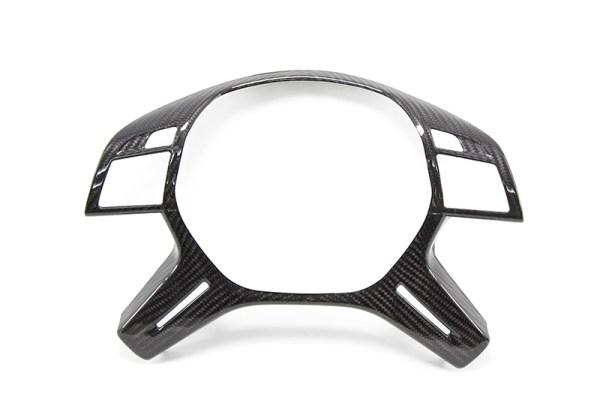 Carbon fiber Mercedes C / E-class steering wheel cover