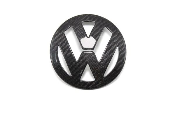 Carbon fiber VW Golf 5 mk5 emblem cover