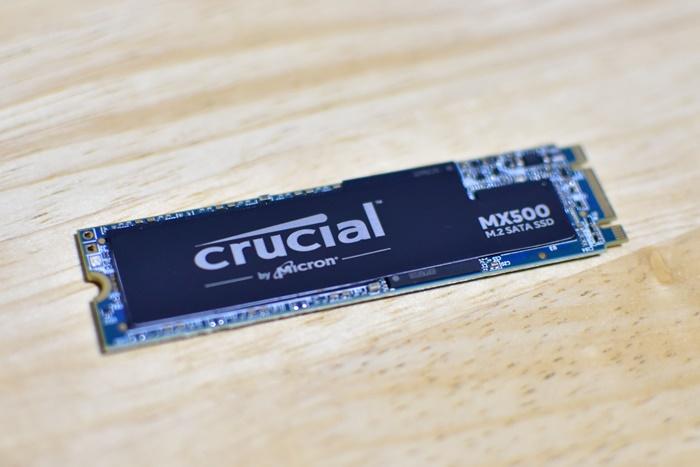 Crucial M.2 SSD フォーマット