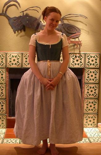 An Easy Authentic Eighteenth Century Petticoat