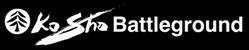 KoSho Battleground LogoW 249x50-72res