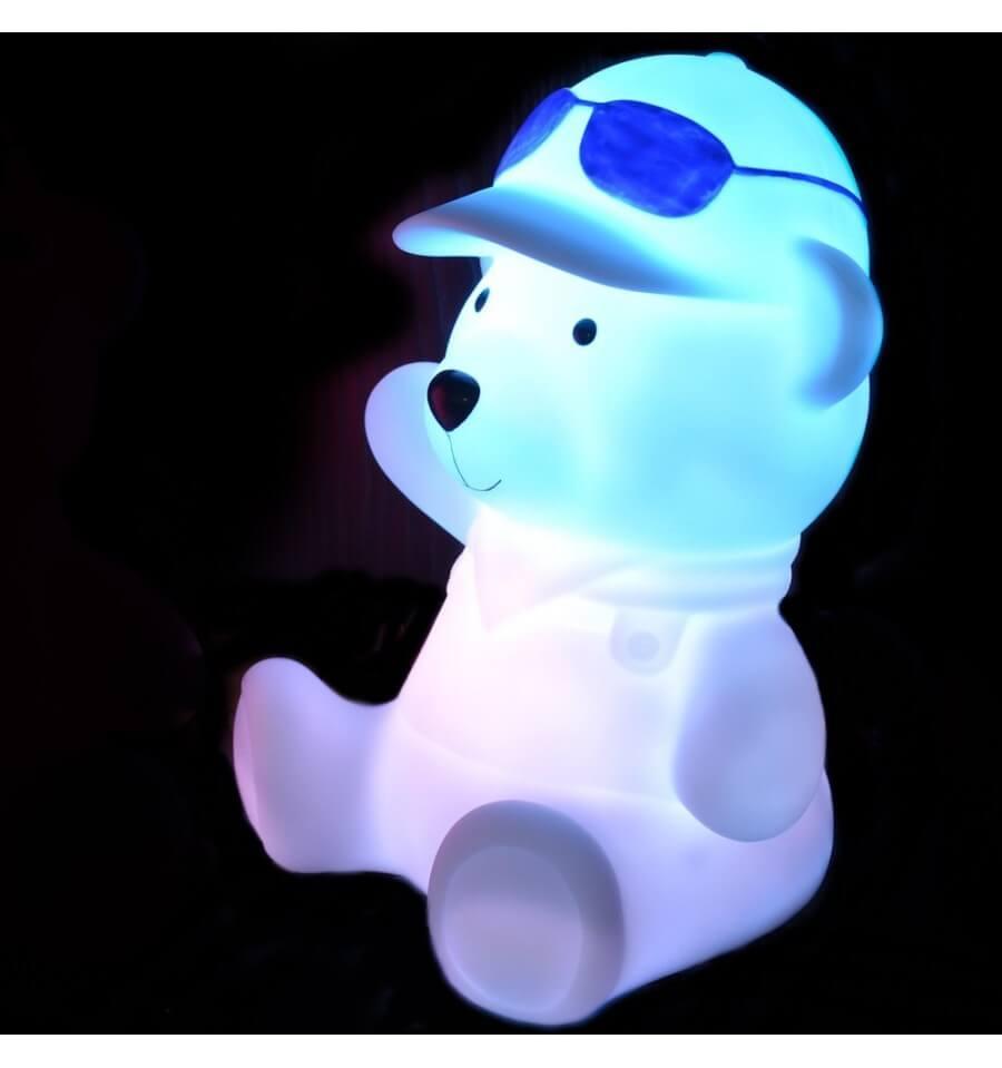 LED Nachtlamp Beer multicolor draadloos verlichtingsobject