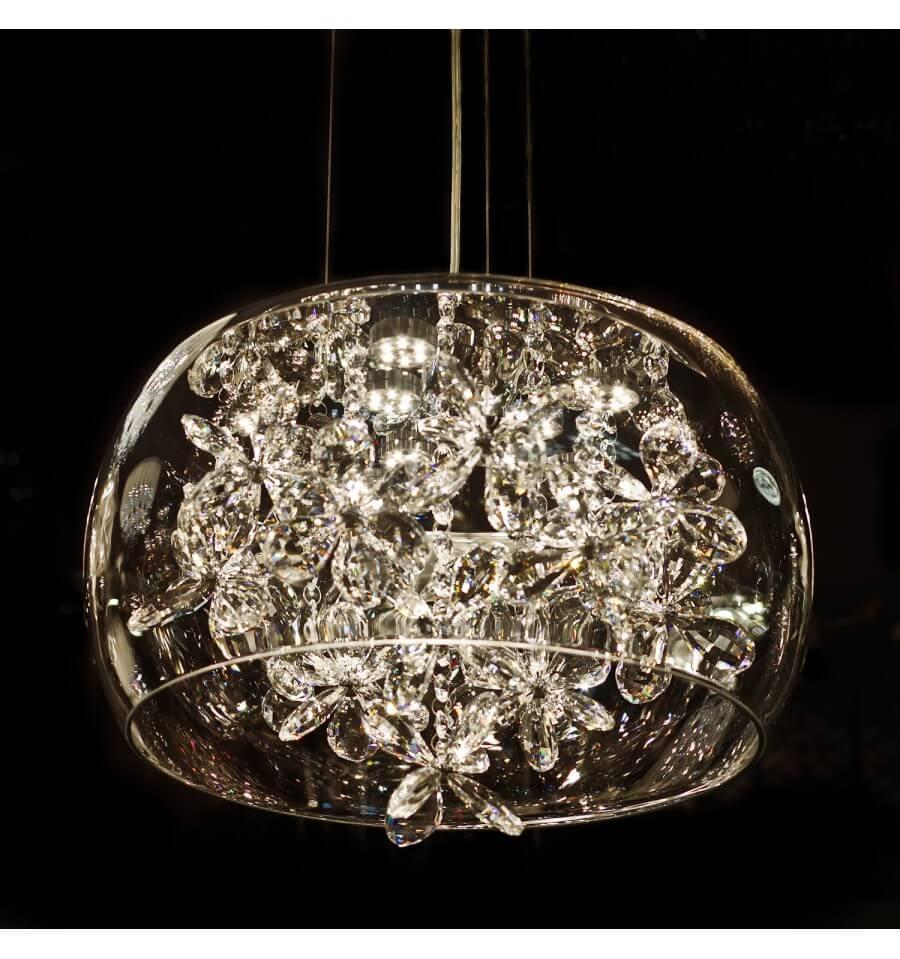 Moderne hanglamp kristal design Juno