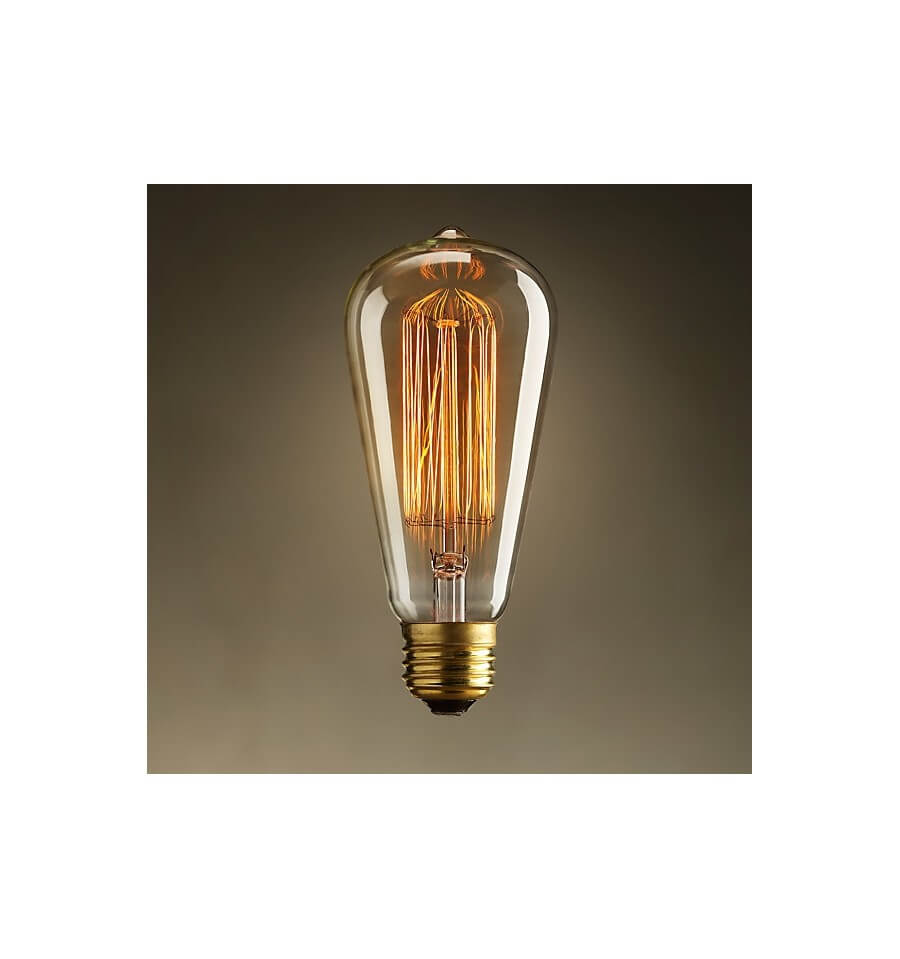 Classic Incandescent Bulb E27 40W Warm White