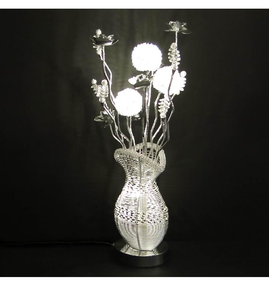 Trs grande lampe design LED aluminium  Welba