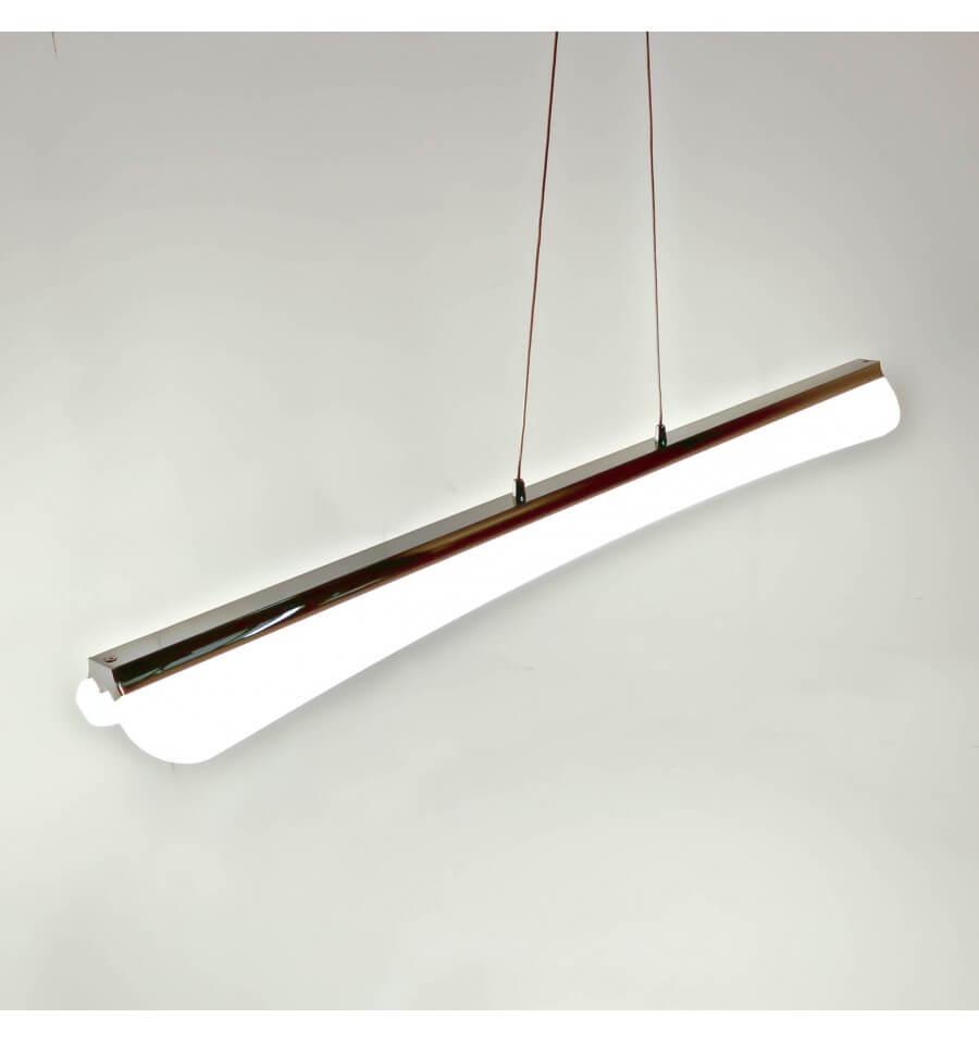 Lmpara de techo LED de diseo de cromo  Horizon