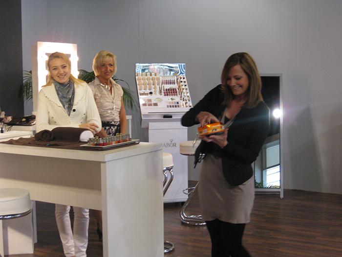 Styling Lounge in den Fashion Outlets in Zweibrücken im Mai 2012