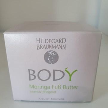 Hildegrad Brauckmann Body Moringa Fuß Butter