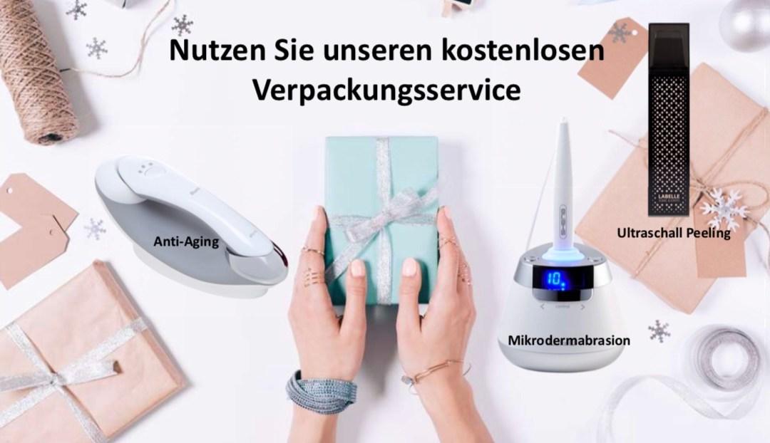 Gratis Weihnachtsgeschenke Verpackungsservice