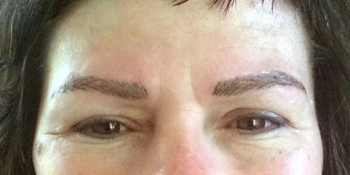 Augenbrauen Permanent singen Sulz