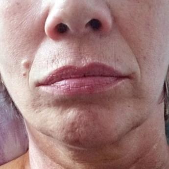 Lippenkontur alleine