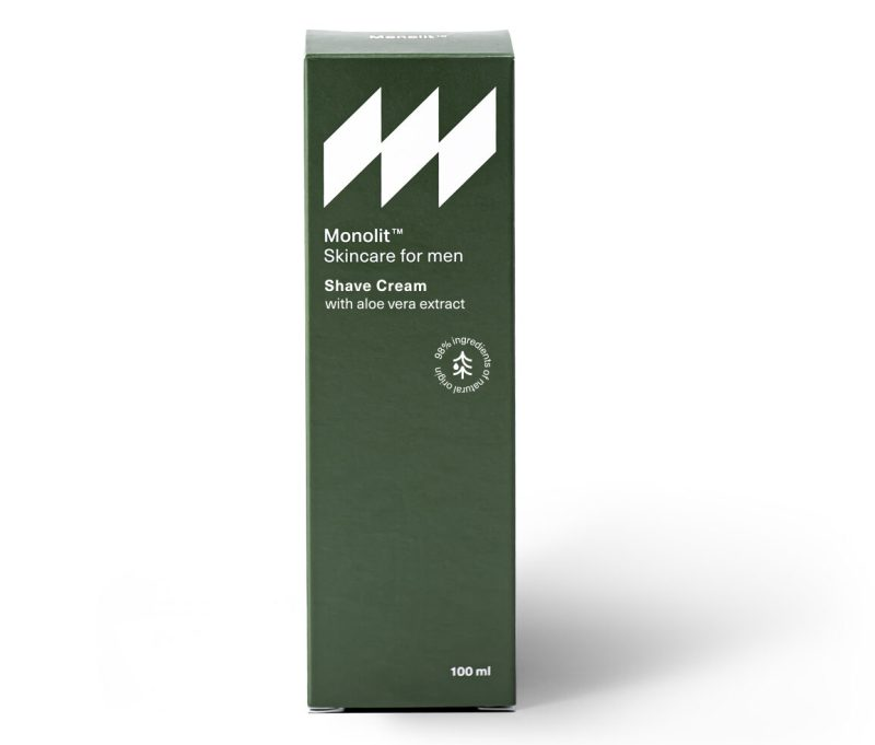 Krem do golenia z ekstraktem z aloesu (100ml)
