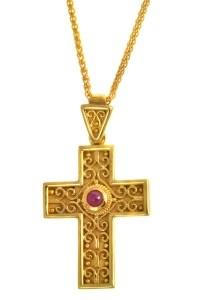 Σταυρός Χρυσός 18 Καράτια