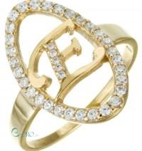 Δαχτυλίδι από επιχρυσωμένο Ασήμι 925