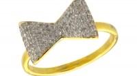 JOOLS Δαχτυλίδι από επιχρυσωμένο ασήμι 925