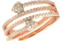 JOOLS Δαχτυλίδι από ροζ επιχρυσωμένο ασήμι 925