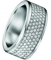CALVIN KLEIN Δαχτυλίδι από ανοξείδωτο ατσάλι KJ06WR040106