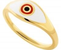 HONOR Δαχτυλίδι από επιχρυσωμένο Ασήμι 925 HONORR22