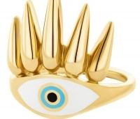 HONOR Δαχτυλίδι από επιχρυσωμένο Ασήμι 925 HONORR25