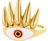 HONOR Δαχτυλίδι από επιχρυσωμένο Ασήμι 925 HONORR26