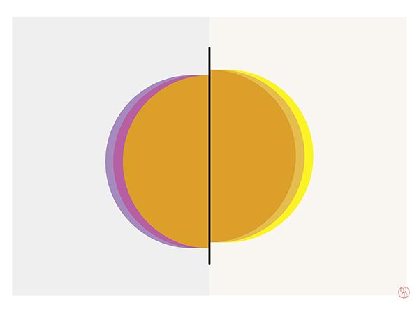 Refraktion III, 2020, New Media, 32 x 46 cm