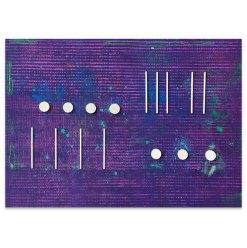 Sono sequentia I, 2021, Assemblage, 42 x 59,5 cm